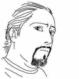 Retrato de Ariel Flores